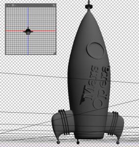 Mars Musical Rocket Ship Under Construction